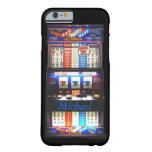 Máquina tragaperras del casino funda de iPhone 6 barely there