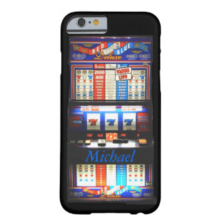 Máquina tragaperras del casino funda de iPhone 6 barely there
