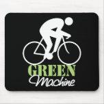 Máquina verde Mousepad Tapete De Raton
