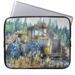 Maquinaria agrícola, tractor, retroexcavadora, manga portátil