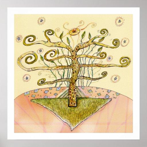 Maquinaria botánica - árbol de la impresión archiv impresiones