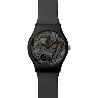 Maquinaria de Steampunk (a todo color) Reloj