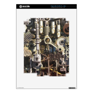 Maquinaria de Steampunk Calcomanía Para iPad 2