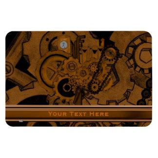 Maquinaria de Steampunk (cobre) Imanes