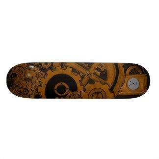 Maquinaria de Steampunk (cobre) Skateboards