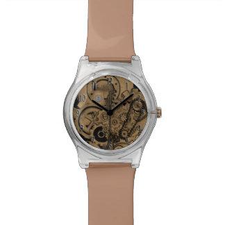 Maquinaria de Steampunk (de latón) Reloj