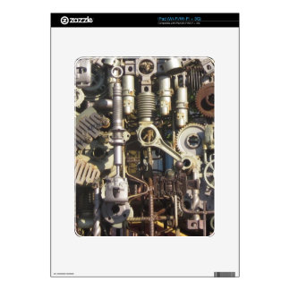 Maquinaria de Steampunk iPad Calcomanías