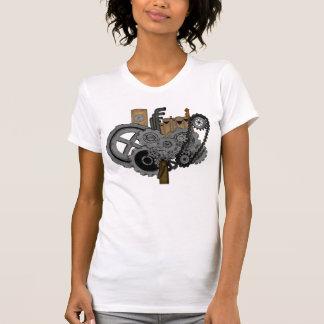 Maquinaria de Steampunk Camisetas