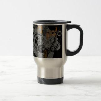 Maquinaria de Steampunk Tazas De Café