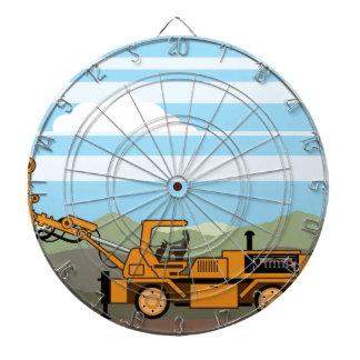 Maquinaria del vehículo del tractor de la