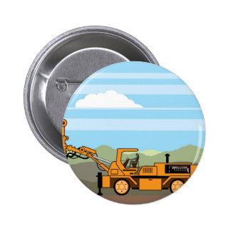 Maquinaria del vehículo del tractor de la pin redondo de 2 pulgadas