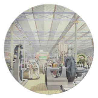 Maquinaria móvil, de 'Dickinson completo Plato Para Fiesta