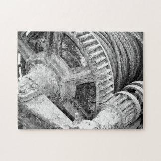 Maquinaria oxidada rompecabezas