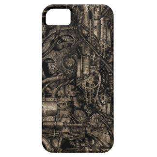 Maquinaria sucia de Steampunk iPhone 5 Cárcasas