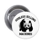 Máquinas ateas de la matanza pin