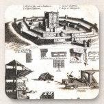 Máquinas de la guerra y del diagrama del castillo posavaso