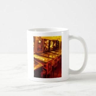 Máquinas de pinball taza clásica