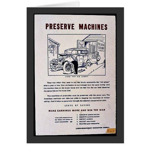 Máquinas del coto felicitacion
