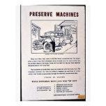Máquinas del coto tarjetas informativas