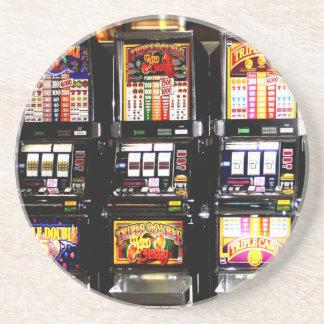 Máquinas ideales de las ranuras de Las Vegas Posavasos Para Bebidas