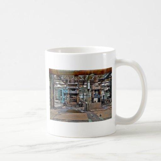 Máquinas muertas tazas de café