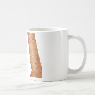 Maquinilla de afeitar malvada tazas de café