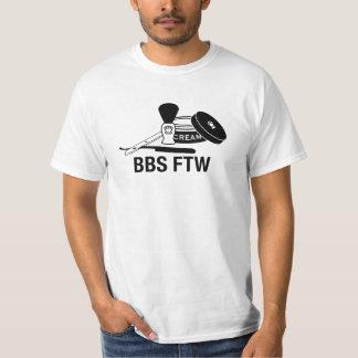 Maquinilla de afeitar recta del BBS FTW - camiseta