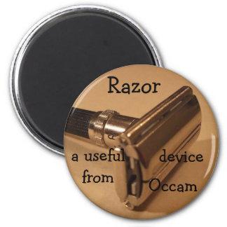 Maquinilla de afeitar: un dispositivo útil de Occa Imán Redondo 5 Cm