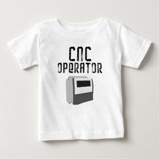 Maquinista del operador del CNC Playera Para Bebé