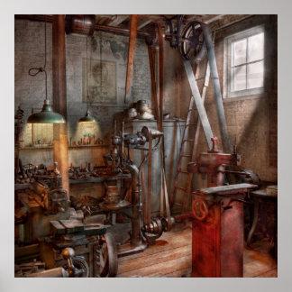 Maquinista - el taller moderno póster
