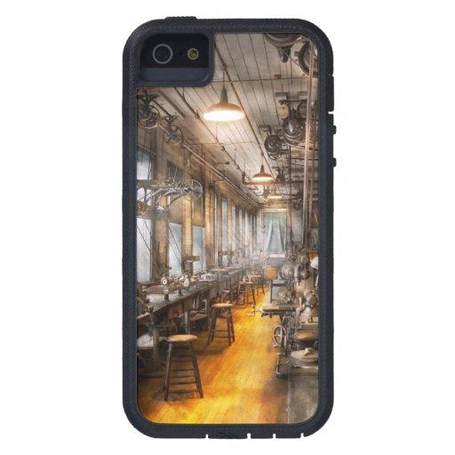 Maquinista - el taller viejo de Santa iPhone 5 Protector