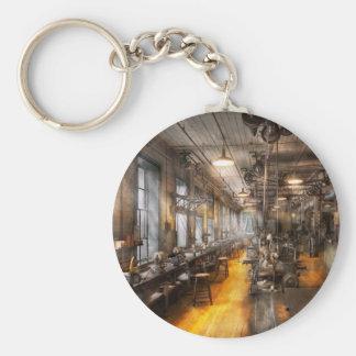 Maquinista - el taller viejo de Santa Llaveros Personalizados