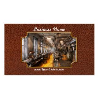 Maquinista - el taller viejo de Santa Plantillas De Tarjeta De Negocio