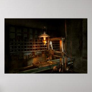 Maquinista - en los molineros póster