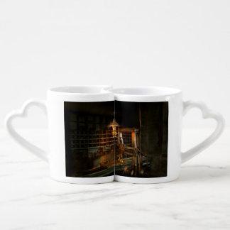 Maquinista - en los molineros set de tazas de café