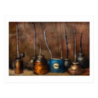 Maquinista - herramientas - dispensadores de la postales