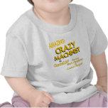 Maquinista loco camisetas