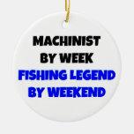 Maquinista por leyenda de la pesca de la semana ornatos