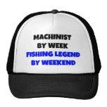 Maquinista por leyenda de la pesca de la semana po gorras