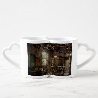 Maquinista - Revolución industrial Set De Tazas De Café