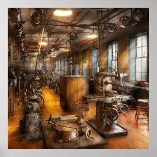 Maquinista - sociedad industriosa póster