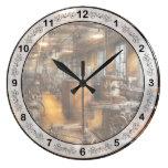 Maquinista - sociedad industriosa reloj de pared