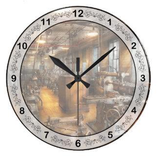 Maquinista - sociedad industriosa reloj redondo grande