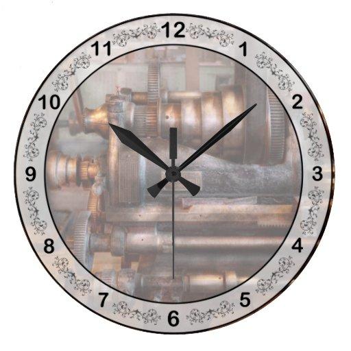 Maquinista - Steampunk - 5 velocidades semi automá Relojes De Pared