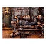 Maquinista - Steampunk - 5 velocidades semi automá Tarjetas Postales