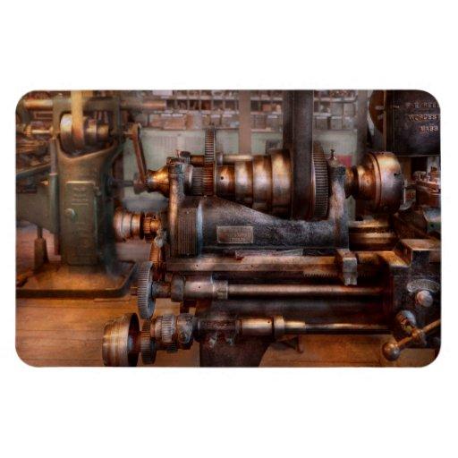 Maquinista - Steampunk - 5 velocidades semi Imanes Rectangulares