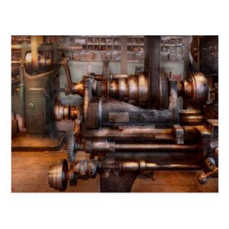 Maquinista - Steampunk - 5 velocidades semi Postales