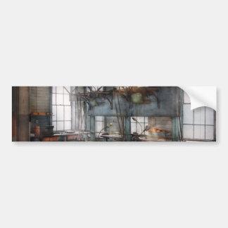 Maquinista - Steampunk - el cuarto del chisme Etiqueta De Parachoque