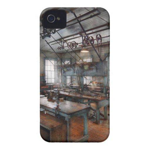 Maquinista - Steampunk - el cuarto del chisme Case-Mate iPhone 4 Protector