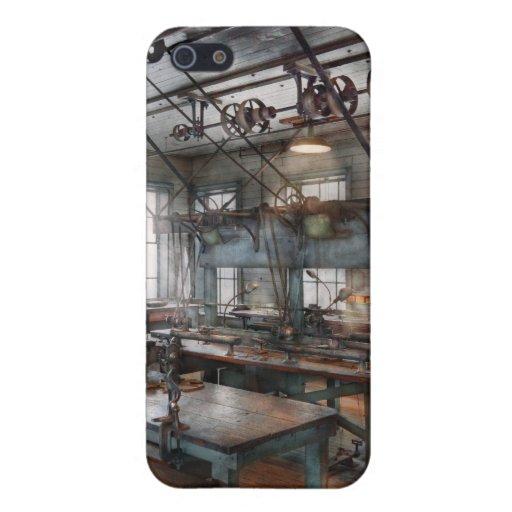 Maquinista - Steampunk - el cuarto del chisme iPhone 5 Carcasa